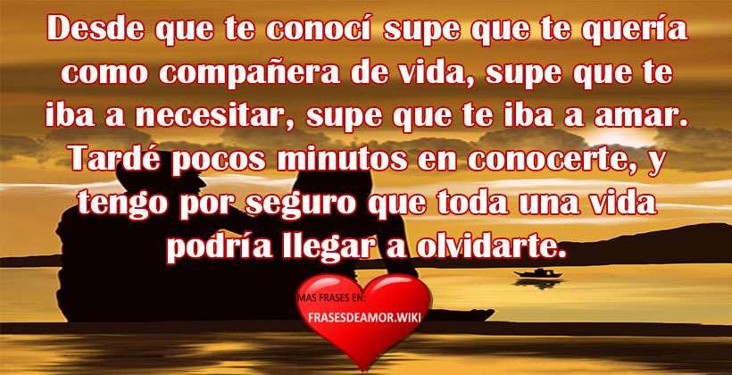 Frases De Amor Cortas Bonitas Y Románticas Frasesdeamorwiki