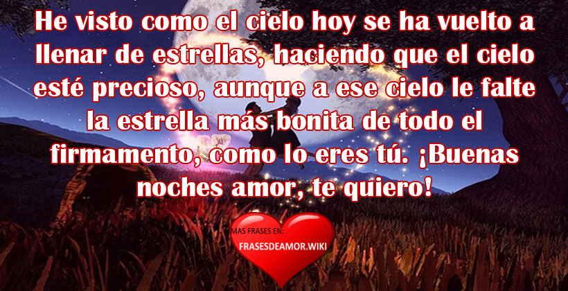 Frases Y Mensajes De Buenas Noches De Amor Frasesdeamorwiki