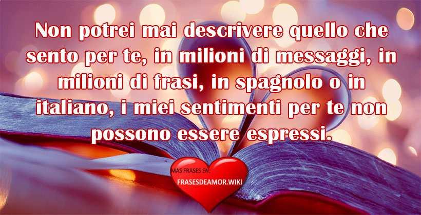 frases en italiano de amor