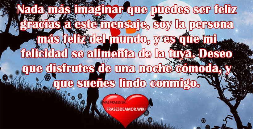 Frases Y Mensajes De Buenas Noches De Amor Frasesdeamor