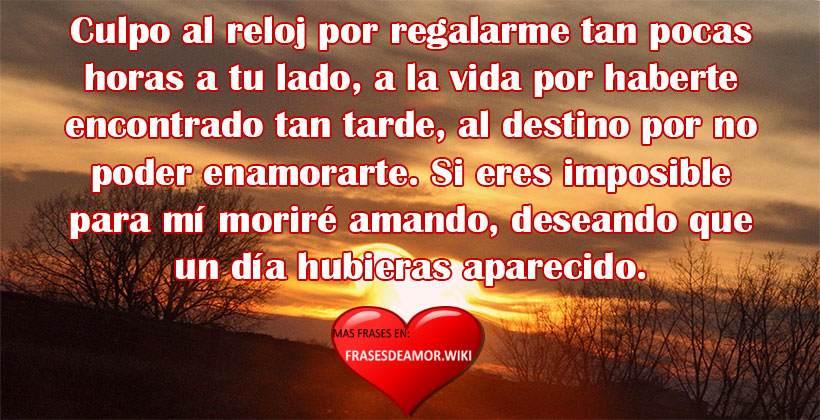 Frases Românticas De Amor: FRASES DE AMOR Cortas, Bonitas Y Románticas