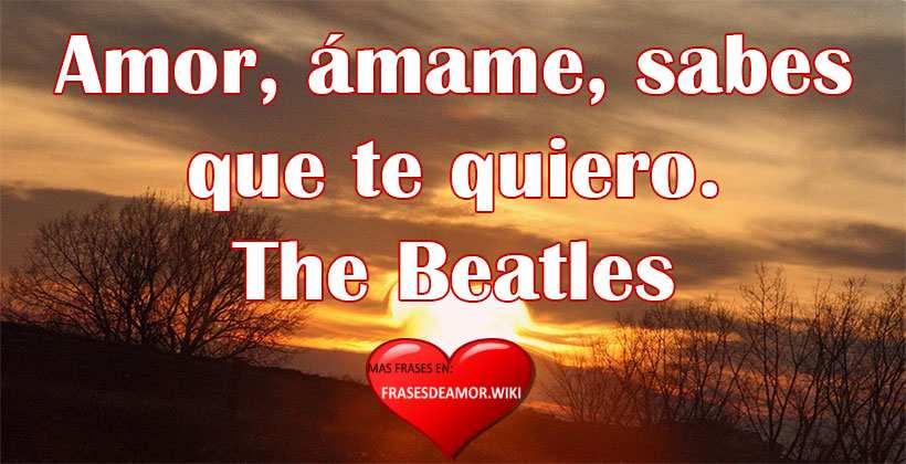 frases de rock de amor